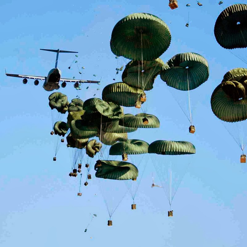 WHO INVENTED THE PARACHUTE?
