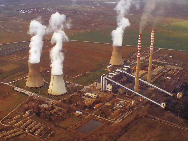 HOW IS ELECTRICITY GENERATED IN A POWER STATION?