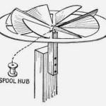 The Pinion-wheel Windmill – Homemade Toys