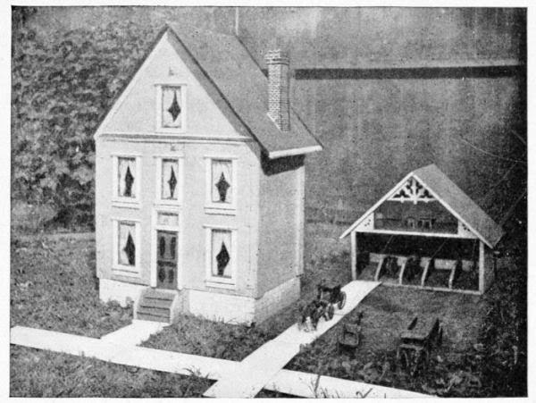 Wooden Doll House Plans – How to Make a Wooden Doll House