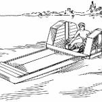 Paddle Wheel Boat Plans – How to Build a Paddle Wheel Boat By P. A. Baumeister